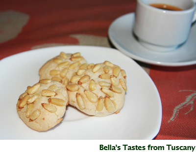 Bella's Pine Nut Cookies - GailMencini.com