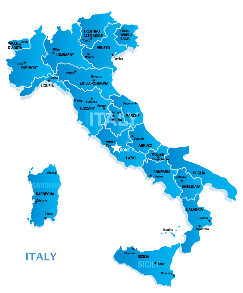 Wine Regions of Italy Silo