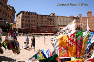 SIENA CONTRADE FLAGS - Annotated
