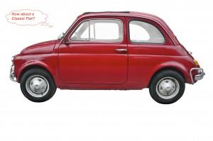 Red Classic Fiat